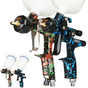 Hvlp Air Spray Gun Kit 1 3mm Auto Car Primer Paint Sprayer Gravity Feed Repair