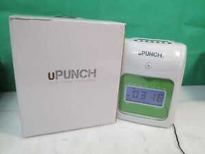 Upunch Electronic Time Clock Bundle Employee Work Hours Track Payroll Hn4000