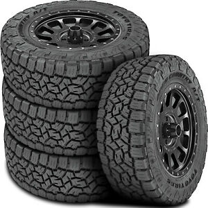 4 New Toyo Open Country A t Iii Lt 33x12 50r20 Load F 12 Ply At All Terrain Tire