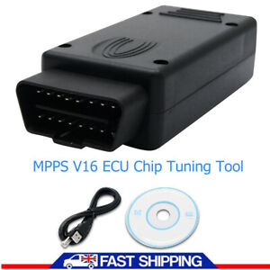 Mpps V16 Ecu Flasher Chip Tuning Remapping Tool For Edc15 Edc16 Edc17 Med9 Me7