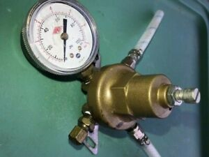 Taprite Co2 Soda Fountain Pressure Gauge 100 Psi Max Usg