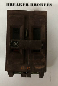 Wadsworth 100 Amp 2 Pole Circuit Breaker Plastic Feet Ships Today Priority