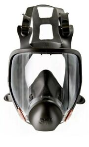 New Genuine 3m 6900 Full Face Respirator Size Large Free Shipping