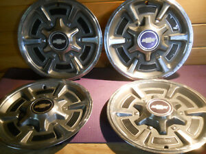1973 1987 Chevrolet Pickup Truck Wheel Cover Hubcap 15 Gmc Truck Set Of 4 Chevy