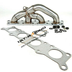 Ss304 Turbo Exhaust Manifold Fit Audi A4 Quattro Vw Golf bettle passat 1 8t Dohc