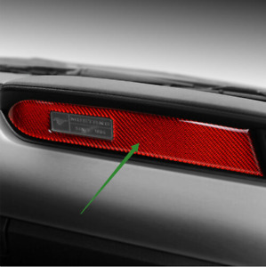 Carbon Fiber Interior Dashboard Panel Decor Trim For Ford Mustang Accessories