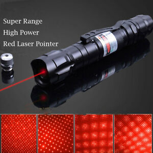 900 Miles Red Laser Pointer Pen Astronomy Star Beam 18650 Torch 650nm Lazer Toy