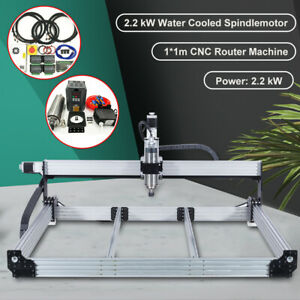 4 Aixs Cnc Router Machine Full Kit Water Cooled Spindle 2 2kw 20 Off Promotion