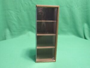 Wood And Plexiglass Display Case With Hinged Door 11 1 2 4 1 4 4