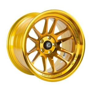 18x11 Cosmis Xt 206r 5x114 3 8 Hyper Gold Wheels Rims Set 4
