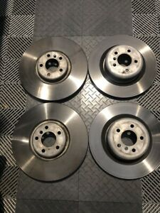 Bmw E70 X5m E71 X6m Brake Rotors Complete Set Front And Rear