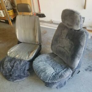 84 89 Toyota 4runner Pickup Truck Front Driver And Passenger Seats Bucket Seats