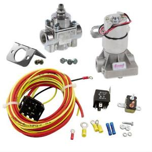 Summit Racing Fuel Pump 140 Gph 14 Psi Max 30 Amp Relay Regulator Pro Pack