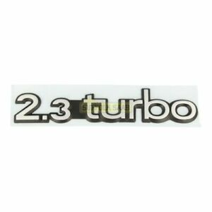 Saab 9000 91 92my Cd Cs 2 3 Turbo Badge Emblem 4254058 New Genuine Rare Suffolk