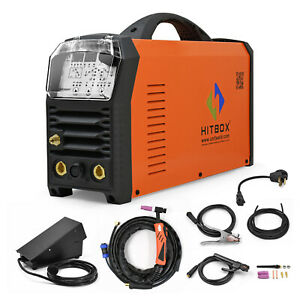 Us Tig Welder Ac dc 200a Pulse Dual Voltage 4in1 Multifunction Tig Mma Aluminum