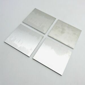 25 Thick 1 4 Aluminum 6061 Plate 8 25 X 8 75 Long Qty 4 Sku 176365