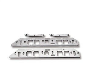 Weiand 8206 Intake Manifold Spacer Kit Standard Bb To Tall Deck Oval Port