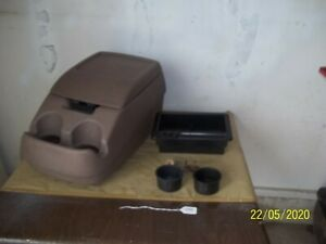 92 96 Ford Bronco F150 Center Console With Storage Tray Cup Holder Used Oem