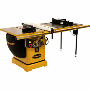 Powermatic Table Saw 5hp 1ph 230v 50in Rip W accu fence Router Lift Pm2000b