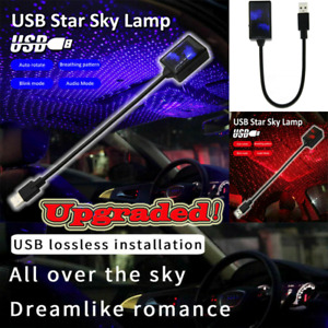 New Usb Car Interior Roof Atmosphere Starrry Sky Lamp Star Led Projector Light