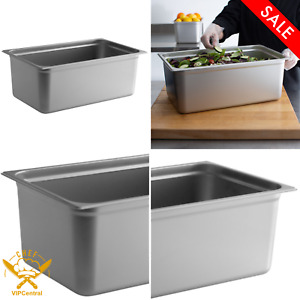Choice Full Size 8 Inches Deep Anti jam Stainless Steel Steam Table Hotel Pan