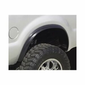 Pacer Performance Fender Flares Fr Rear Blk Synthetic Rubber Universal Pr 52132