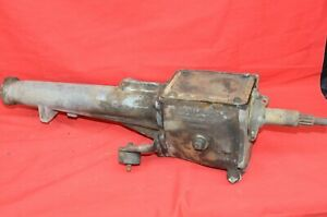 1960 63 Ford Falcon Mercury Comet 3 Speed Transmission Case Tailpiece Date E13