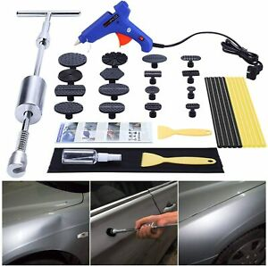 Gliston Car Dent Puller Kit Paintless Dent Repair Remover Pro Slide Hammer Tool