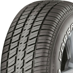 4 New P235 60r14 96t Cooper Cobra Radial Gt 235 60 14 Tires G t