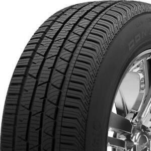2 New 255 45r20 Continental Conticrosscontact Lx Sport Tires 101 H