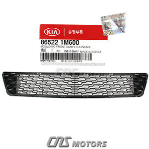 Genuine Front Bumper Grille Lower For 2011 2013 Kia Forte Oem 865221m600