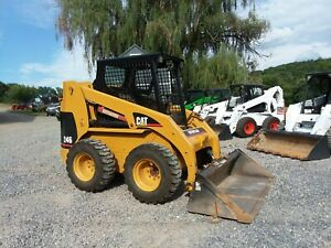 2004 Caterpillar 248 Skid Steer Loader With Bucket Pilot Controls Only 1789 Hr