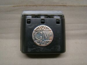 Vintage Coin Holder With Badge Logo Cadillac Oldsmobile Buick Pontiac Chevy Gm