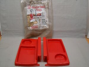 Vintage Car Trays Auto Serve Trays Car Hop Trays Car Snac Snack Trays Drive In