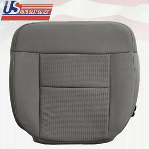 2005 2006 2007 2008 Ford F150 Xlt Driver Bottom Cloth Seat Cover In Flint Gray E
