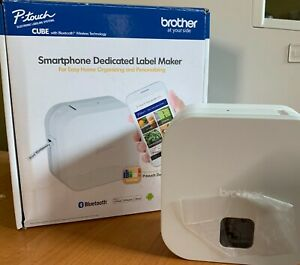 Brother P touch Cube Smartphone Label Maker Bluetooth Wireless Pt p300bt
