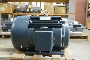 Marathon 40 Hp 1780 Rpm Gt1034 3 Phase Tefc 324t Electric Motor Reconditioned