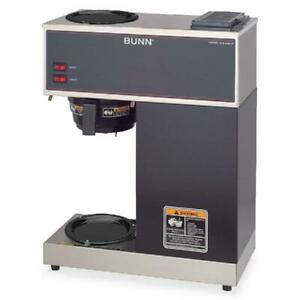 Bunn Vpr 12 cup Commercial Coffee Brewer 2 Warmers