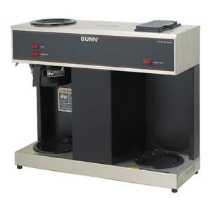Bunn Vps 12 cup Commercial Coffee Brewer 3 Warmers