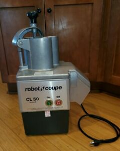 Robot Coupe Cl50 Series E Commercial Continuous Feed Countertop Food Processor