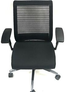 Steelcase Think Chair 3d Knit Back 4 way Adjustable Arms