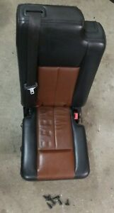 2007 2017 Navigator Ford Expedition 2nd Row Middle Jump Center Seat Black Brown