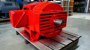 Us Electric Nidec 100 Hp 1775 Rpm 404ts 3 Phase Odp Reconditioned Motor