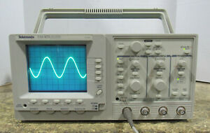 Tektronix Model Tas475 4 channel 100mhz Analog Oscilloscope Tested And Working