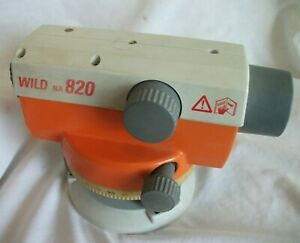 Leica Na 820 Automatic Optical Level In Case Wild Transit