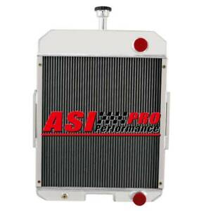 Tractor Aluminum Radiator For Case Ih 666 686 706 756 2706 2756 5row 396352r91