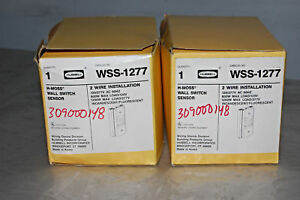 Hubbell Wss 1277 Hall Switch Motion Sensor Lot Of 2