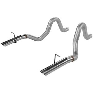 Exhaust Tail Pipe tailpipe Set Flowmaster 15820 Fits 86 93 Ford Mustang 5 0l v8