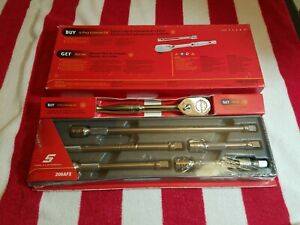 Snap On 206afx 3 8 Drive 6 Piece Extension Set In Tray 206afx80 Ratchet