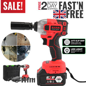 1 2 Electric Brushless Cordless Impact Wrench 330 N M Drill High Torque Tackle